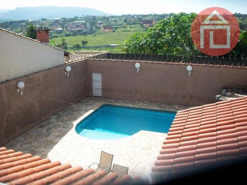 Casa Com 4 Dormitórios À Venda, 367 M² Por R$ 700.000,00 - Residencial Das Ilhas - Bragança Paulista/sp - Ca0695