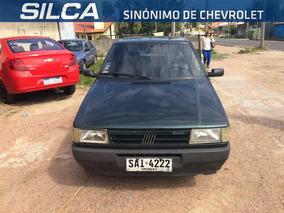 Fiat Uno Cs 1995 Verde 3 Puertas