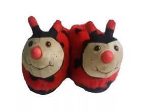 Kit Com 4 Pantufas Divertidas Mickey Minie Pluto E Sua Turma