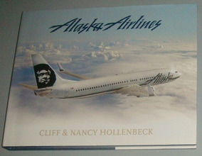 Avião - Livro Alaska Airlines ( Inglês ) = Ler Descrição
