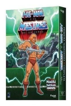 He-man Os Mestres Do Universo 1ª Tem. 12 Dvds Orig Lacrado