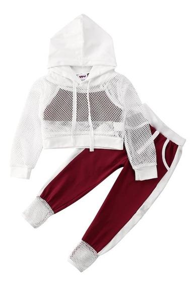 Sudadera Para Bebe Niña Chaqueta Con Chompa Pantalon