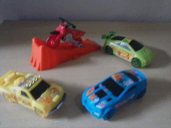 Coleção Completa Mcdonalds Team Hot Wheels 2012