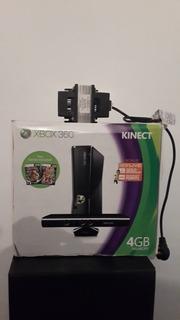 Xbox 360 Con Kinect, Un Control Y Transf. A 220 V De 750 W