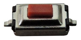 Botão Interruptor Táctil Smd Para Chaves E Controles 10 Un.