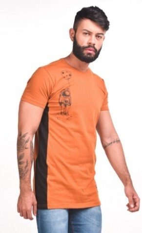Camiseta T-shirt Long Astronaut