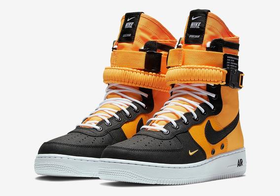Nike Sf Af1 Laser Orange 10.5 Us 28.5cm Original Nuevo