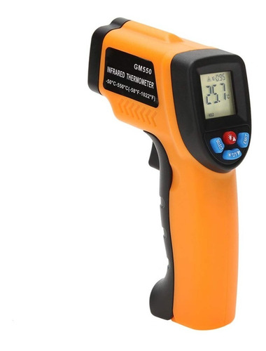 Medidor Temperatura Laser Termómetro 550° Gm550 1añogarantia