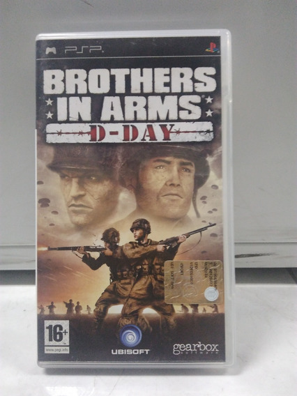 Brothers In Arms: D-day - Psp - Mídia Física
