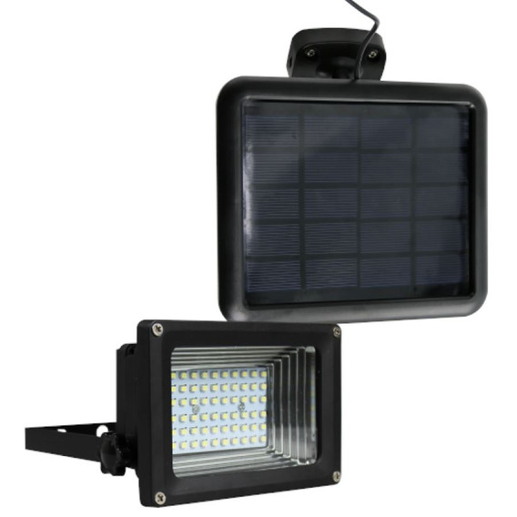 Refletor Solar 60 Leds Ecoforce Branco