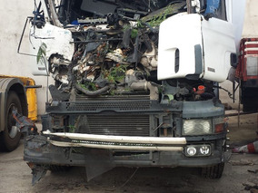 Scania R124 Ga 4x2 Sucata S/documento Para Retirada De Peças
