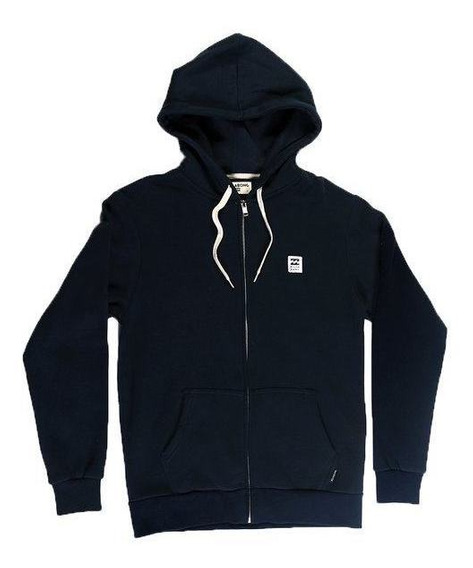 Campera Billabong School Zip Hood Niño Azul