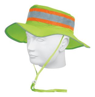 Sombrero Alta Visibilidad Con Reflejante Verd Truper 14010