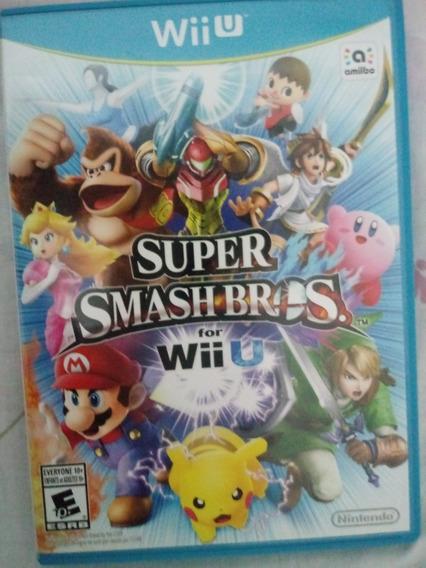 Super Smash Bros Para Wiiu Semi Novo.
