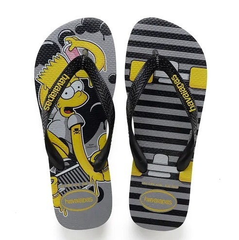 Chinelo Havaianas Bart Simpsons 41/42