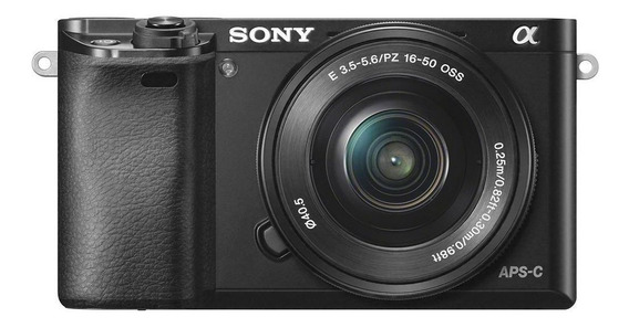 Sony Alpha 6000 16-50mm OSS Kit mirrorless cor preto