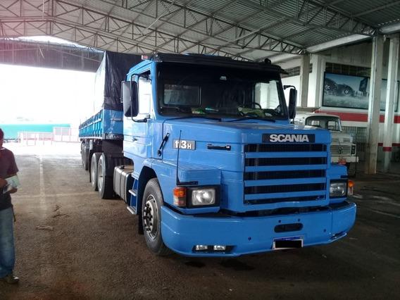 Caminhão Scania T 113 E Carreta Randon Graneleiro 2001