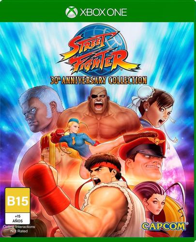 Imagen 1 de 4 de Street Fighter 30th Anniversary Collection - Xbox One