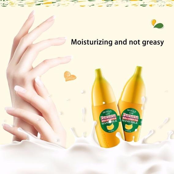 Creme Para As Mãos Banana Hand Milk Da Bioacqua
