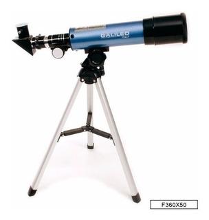 Galileo Refractor Con Tripode F360x50 E.full