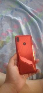 Motorola Moto E6 Plus Vermelho Espelhado