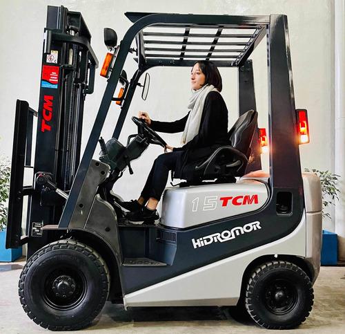 Autoelevador  Tcm 1500kg Diesel Automatica