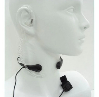 Fone Laringofone Para Rádio Ht Baofeng Voyager E Outros Mode