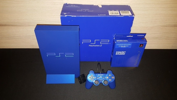 Console Playstation 2 Automobile Azul Astral Videogame Raro