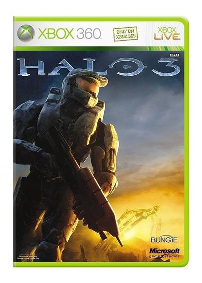Halo 3 Xbox 360 - Midia Fisica - Novo - Dublado Em Portugues
