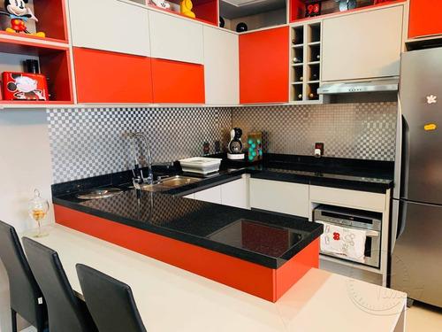 Imagem 1 de 29 de Apartamento Duplex À Venda, 49 M² Por R$ 480.000,00 - Bethaville I - Barueri/sp - Ad0009
