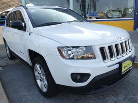 2014 Jeep Compass Lattitude Fwd 4 Cilindros Blanco Brillante