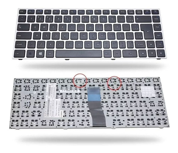 Teclado Para Notebook Positivo Premium Xs7210 Preto Abnt2