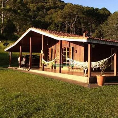 Imagem 1 de 11 de Chácara Com 3 Dormitórios À Venda, 12000 M² Por R$ 800.000,00 - Parque Monte Rey - São Bento Do Sapucaí/sp - Ch0417