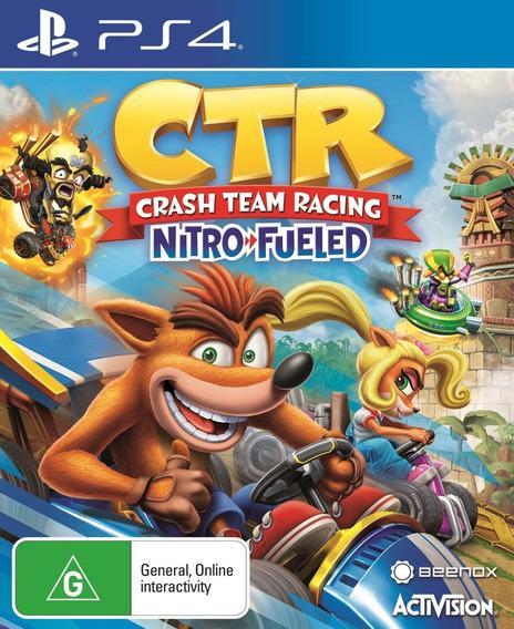 Crash Ctr Team Racing Ps4 Entrega Inmediata!