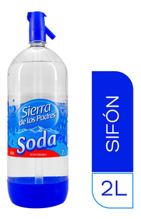 Soda Sierra De Los Padres Pack Sifon 2 Lt X 6 Unidades