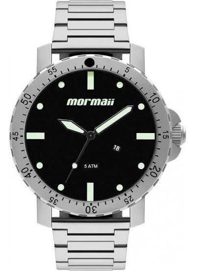 Relógio Analógico Mormaii Urban Prata Mo2115bg/1p