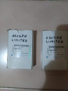 Valvulas Escape Optra Limited Tapa Negra 2005