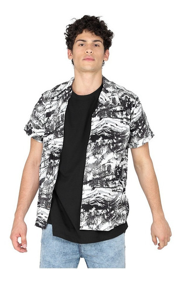 Camisa Vicus Nature Gris