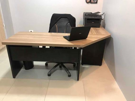 Mesa Escritório Em L