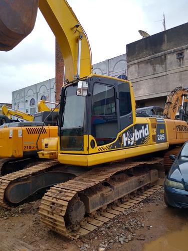 Escavadeira Komatsu Hibrida Hb 205-1 2013  21 Ton  *repasse*