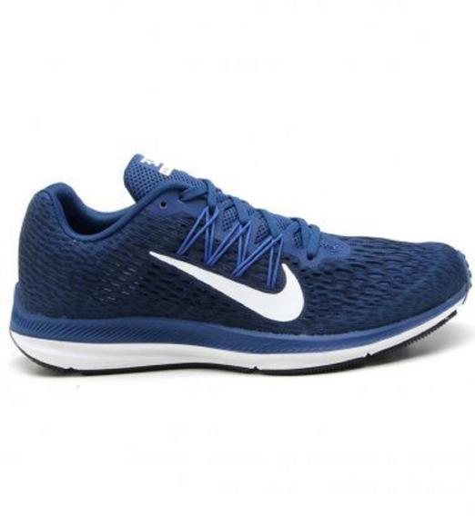 Tênis Nike Zoom Winflo 5 Azul Original