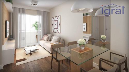 Apartamento À Venda, 38 M² Por R$ 245.000,00 - Jardim Oriental - São Paulo/sp - Ap1298