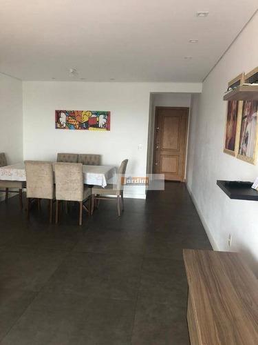 Imagem 1 de 8 de Apartamento Com 3 Dormitórios À Venda, 85 M² - Vila Valparaíso - Santo André/sp - Ap7119