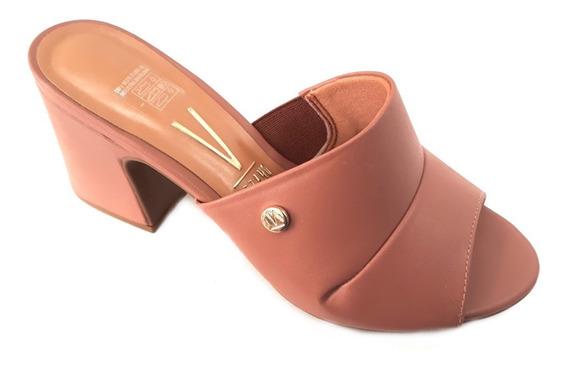 Zapato Mujer Sandalia Vizzano Taco Ancho Intermedio 7cm