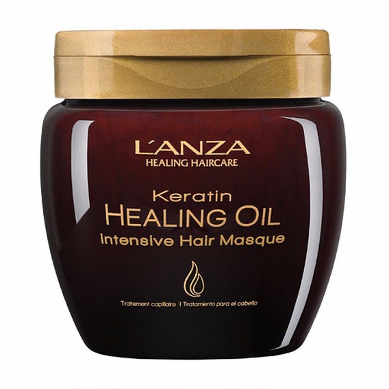 Máscara Lanza Keratin Healing Oil Intensive Hair Masqu 210ml