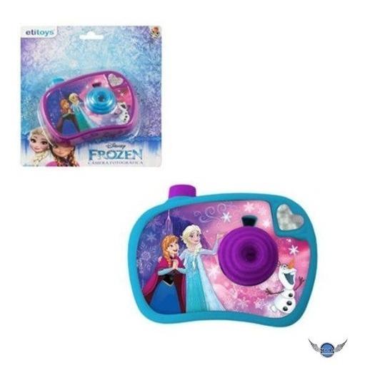 Camera Fotografica Infantil Com Imagem Frozen Brinquedo