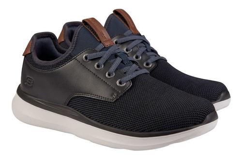 Zapatos Skechers Loafer Memory Foam Para Caballero Original
