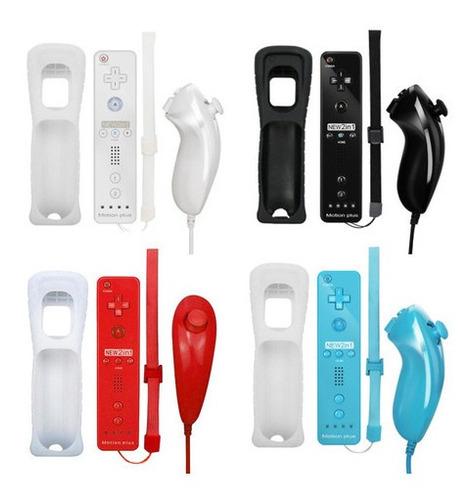 Imagen 1 de 9 de Joystick Inalámbrico Para Controlador Nunchuk Para Wii