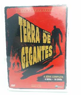 Terra De Gigantes - Série Completa - 4 Boxes 16 Dvd Lacrado