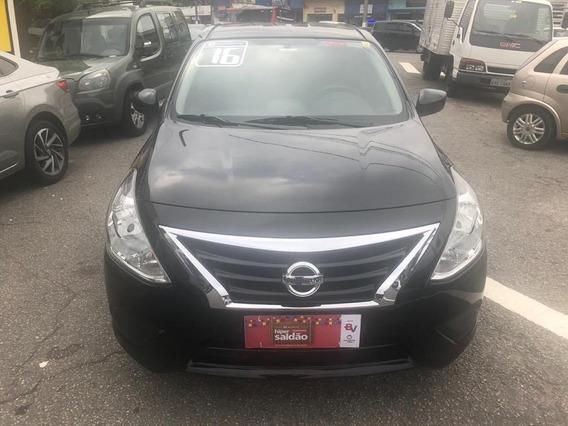 Nissan Versa 2016 1.6 Sv Completo